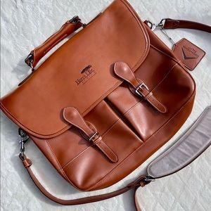 Barrington Fine Leather Messenger Bag